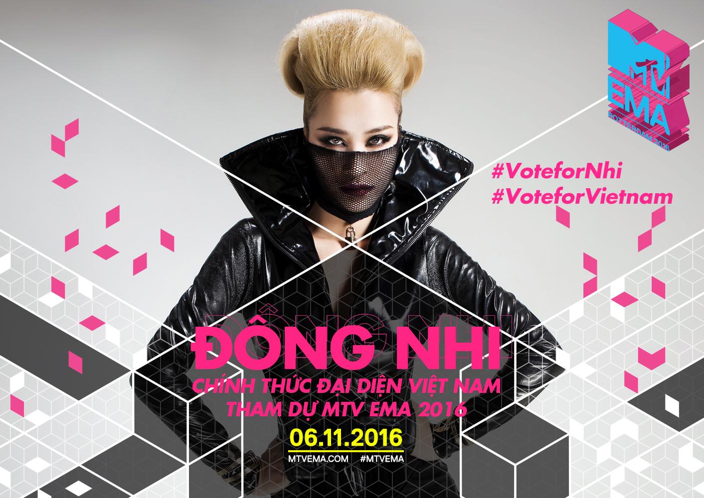 MTV EMA 2016: Mỹ Tâm, Hồ Ngọc Hà cùng loạt sao Việt kêu gọi fan bình chọn cho Đông Nhi - Ảnh 9