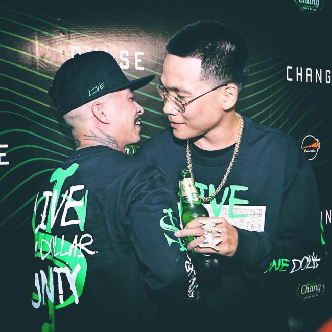 Hai lão làng Hip Hop Việt hội ngộ chung sân khấu
