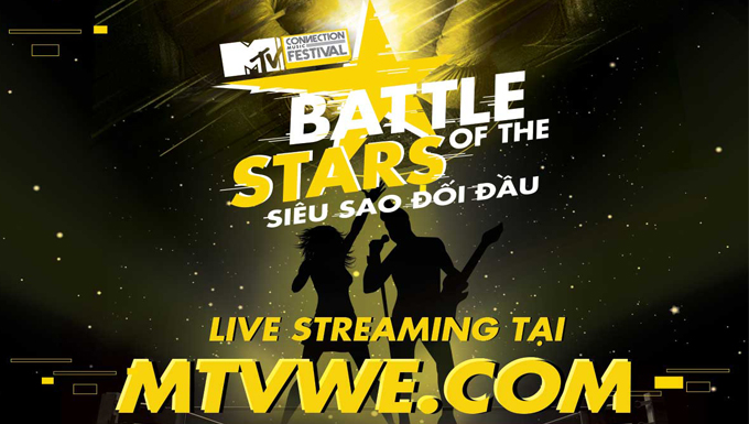 Trực tiếp: MTV CONECTION THÁNG 9 - BATTLE OF THE STARS
