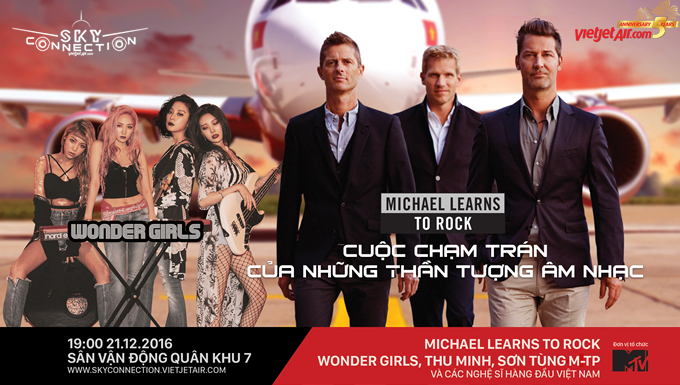 SKY CONNECTION 2016: CUỘC ĐỤNG ĐỘ GIỮA MICHAEL LEARNS TO ROCK VÀ WONDER GIRLS