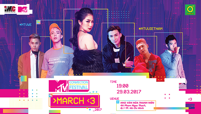MTV Connection tháng 3/2017 - Boy's Night