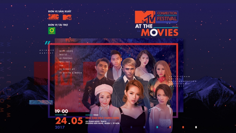 V.I.P Access: MTV Connection Tháng 5/2017