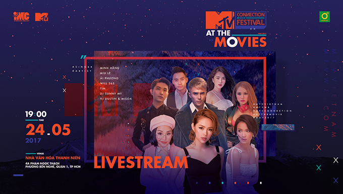 MTV CONNECTION THÁNG 5 – MTV AT THE MOVIES