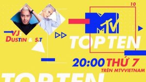 'MTV Top Ten' - Kênh MTV Việt Nam